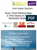 Seven Travel Planning Steps – Impact on Hotel Distribution Strategy