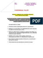 conferencia INGENIOS AZUCAREROS