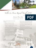 Villa La Tosca FHSOPL May 2011