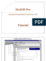 Hazop-pro 1.2 Tutorial