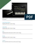Korg iMs-20 Manual
