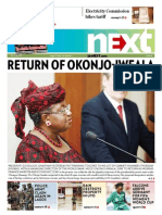 RETURN OF OKONJO-IWEALA