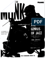 Thelonious Monk - The Genius of Jazz