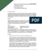 2009 Créditos Fiscales con Baja Probabilidad de Cobro
