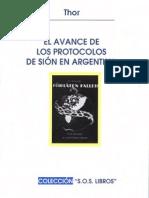El avance de los Protocolos de Sion en Argentina por Thor