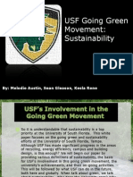 USF Going Green Movement