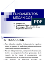 Tema 1. Fundamentos Mecánicos