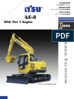 Komastu PC138USLC Specs