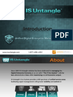 ISU Unified Digital Enterprise Management (ERP for IT) Brief Overview (ITIL, CMMI, PMI, Prince2, Agile, Scrum, BS, PMBoK, COBIT compliance)