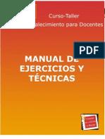 Manual de Ejercicios y técnicas