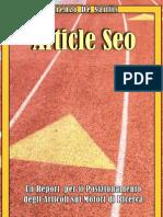 [eBook ITA] Guida Al SEO - Posizionamento Dell'Articolo Sui Motori Di Ricerca