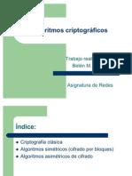 Algoritmos Criptograficos