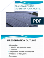 Design of a Solar Pv Grid Connectd Systemmod
