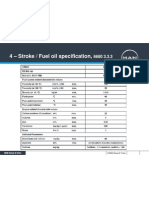 4-Stroke HFO Specification