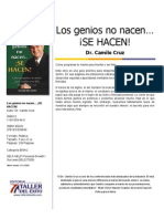 Los Genios No Nacen Se Hacen - Camilo Cruz
