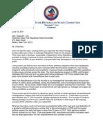 TJB Letter to Chairman Cox