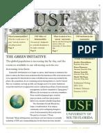 USF Sustainability Team Ecomaniacs