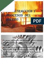 La extracción Y PROCESOS  del HIERRO.pptx.