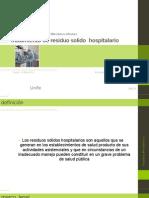 Tratamiento de Residuo Solido Hospital a Rio