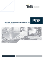 Telit M ONE Protocol Stack User Guide r3