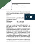 2009 Cumplimiento de las Metas de Ahorro en la Administración Pública Federal