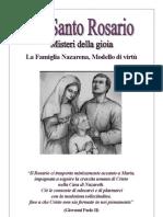 S. Rosari meditati - Le virtu' della Santa Famiglia - Stampa 8,1 2,7 - 6,3 4,5