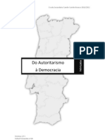 Portugal do Autoritarismo à Democracia
