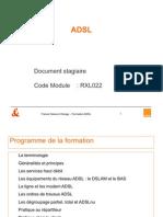 ADSL Principes Techniques - Doc Stagiaire