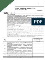 Ficha 04 - Pedagogia Do Oprimido