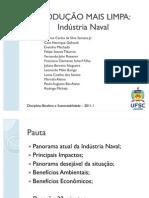 PRODUÇÃO MAIS LIMPA Indústria Naval