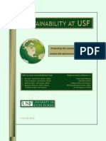 BGGG White Paper Sustainability at USF