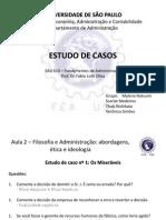 EAD 610 - Estudo de Casos