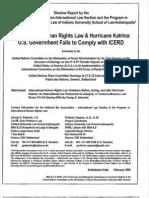 08-02-00 International Human Rights Law; Hurricane Katrina