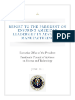 Report to the President on Ensuring American Leadership in Advanced Manufacturing