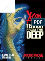 XCOM Terror From the Deep game manual