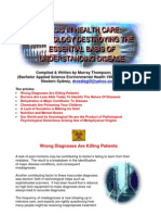 Pesticide and Weedicide Symptoms Misdiagnosed!