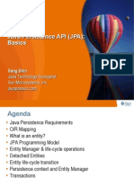Java Persistence API JPA Basics