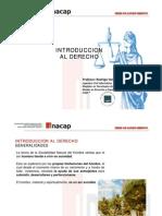 INACAP - LEGTEL - Clase 01 - Introduccion Al Derecho