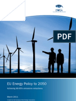 EU Energy Policy to 2050
