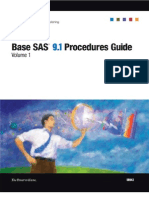 Base SAS 9.1 Procedures Guide