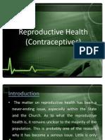 Reproductive Health Contraceptives)