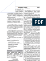 Plazos de presentación de Instrumentos de Ecas de Aguas y Lmps de Efluentes de Actividades Minero-Metalùrgicas