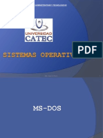 MsDos Operating Systems