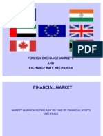 Foreign Exchange Markets and Forex Mechanism