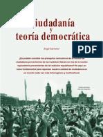 Ciudadania y Teoria Democratic A