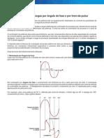 Acionamento de Cargas Por Angulo de Fase e Por Trem-De-pulso