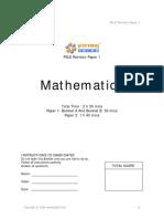 2009 PSLE Revision Paper 1 v1[1]