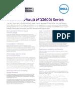 Power Vault MD3600i Spec Sheet