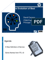 Brief Introduction to ITIL v3 by David Cannon