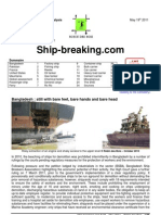 Ship Metal Scrap Report
